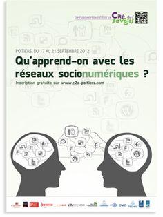 Campus Européen d'été de la cité des savoirs sur les réseaux sociaux du 17 au 21 septembre 2012 à Poitiers