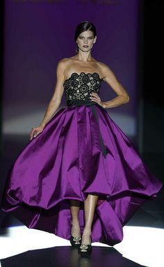Hannibal Laguna S/S 2013. purple