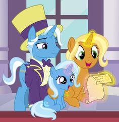 Trixie y familia Meme My Little Pony Games, My Little Pony List, My Little Pony Drawing, My Little Pony Pictures, My Little Pony Friendship, Mlp Pony, Pony Pony, Celestia And Luna, Little Poni