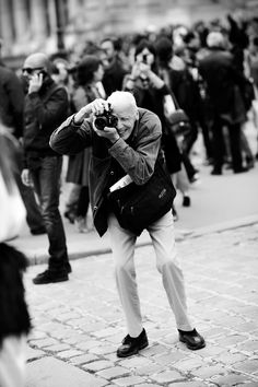 Legendary New York Times photographer Bill Cunningham was a fixture in the fashion industry. Over the past 40 years he documented the fashion world in his iconic uniform of a French blue workman's coat. His legacy will last in the countless moments he caught on the runways and in the streets of New York City.