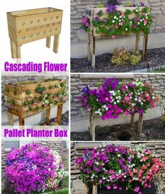 Cascading Pallet Planter Tutorial