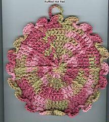 Ravelry: Ruffled Hot Mat pattern by Joyce A. Hodnett