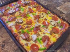 Cut the Wheat, Ditch the Sugar: Gluten Free, Grain Free, Low Carb Holdable Pizza Crust