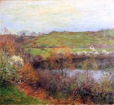 Gloucester harbour Sun - Willard Metcalf - WikiPaintings.org