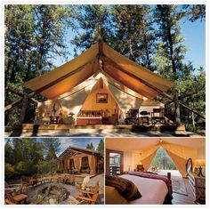 Glamping= glamor camping @ LS & DM