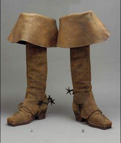 boots ca. via The Museum of Fine Arts, Boston 1890s Fashion, Medieval Fashion, Edwardian Fashion, Vintage Fashion, 17th Century Clothing, 18th Century Fashion, Vintage Shoes, Vintage Outfits, Vintage Clothing