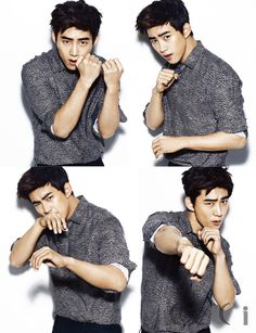 Taecyeon For CéCi's December 2013 Edition. Does anyone notice that he is giving us the smolder? Lol!