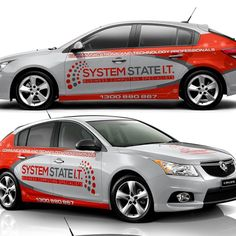 Design an eye catching vehicle wrap for technology business by adelea