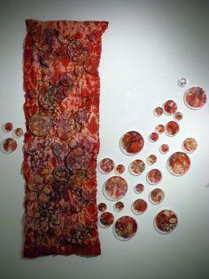 Textiles & Mixed Media by Pamela Uplinger Textile Fiber Art, Textile Artists, Fine Art Textiles, Textiles Techniques, Art Techniques, Growth And Decay, Art Alevel, A Level Art, Anatomy Art