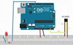 Ejemplo #7 Sensor de movimiento HC-SR501 con Arduino | Arduino de todo un poco
