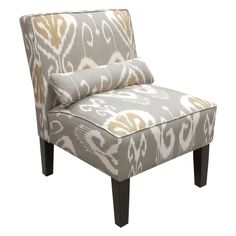 Have to have it. Skyline Armless Chair - Bansuri Slate - $349.99 @hayneedle.com