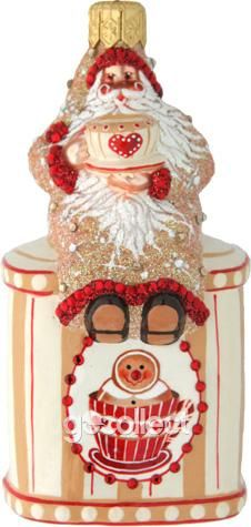 Tea Time Santa (Gingerbread) Patricia Breen Designs