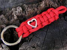 Schlüsselanhänger - Muttertagsgeschenk Herz Schlüsselanhänger - ein Designerstück von Schmuckkistl bei DaWanda