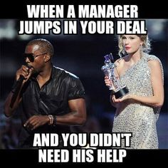 Kanye West Calls Taylor Swift VMA Incident 'The Beginning of the End of My Life': Watch Server Memes, Server Humor, Server Quotes, Work Memes, Work Humor, Jw Humor, Taylor Swift Vma, Waitress Problems, Waitress Humor