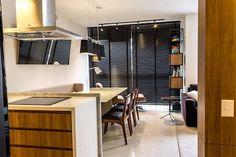Cozinha e Jantar: Salas de jantar modernas por Geraldo Brognoli Ludwich Arquitetura