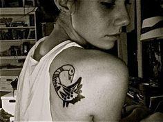 Bildergebnis für sankofa bird tattoo