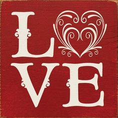 Sawdust City LLC - Love (tile), $11.00 (http://www.sawdustcityllc.com/love-tile/)