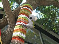 Yarn Bomb!!!!
