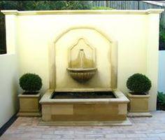 Decor, Outdoor Decor, Wall, Home Decor, Wall Fountain