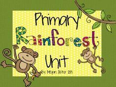 Kids Rainforest Unit
