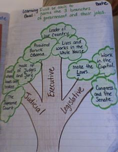 Government lessons including notebooking
