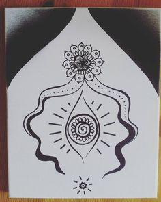 open healing yoni #yoni #art #birthdaypresent @meandmytwohorses #vulva #divinefeminine #honoring #pussypower #pussymagic #femart #womanpower #pussy #vagina #earth #mother #love #drawing #goddess #healing #selflove #vibrations Sacred Feminine, Divine Feminine, Painting Inspiration, Art Inspo, Arte Peculiar, Sacred Garden, Feminist Art, Femininity, Business Card Design