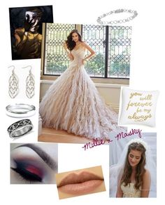 """""""Millie x Masky"""" by imaginestronger ❤ liked on Polyvore featuring Tiffany & Co., Blue Nile and Levtex"""
