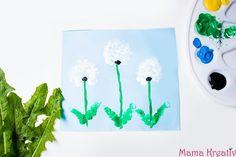 Die schönsten Ideen zum Malen mit den Fingern: für kleine und für große Kinder. Blumen, Tiere, Fahrzeuge, Dinos, Monster usw. Viel Spaß dabei 💗