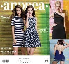 catalogo andrea ropa de verano 2016