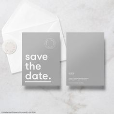 Modern Minimal Save The Date Cards With Envelope by Crum&Co, the perfect gift for Explore more unique gifts in our curated marketplace. Invitation Cards, Invites, Wedding Invitations, Speech Text, Wedding Stationary, Text Color, Save The Date Cards, Your Cards, Thank You Cards
