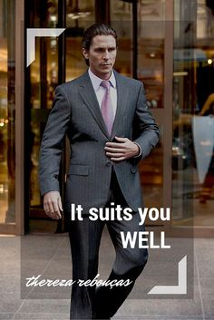 Thereza Rebouças: It Suits You Well Fashion + Movies Suits by Giorgio Armani