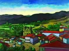 Márcio Schiaz Ouro Preto 90 x 120 cm – OST Ass. CIE e Dat. 2003