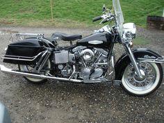 Harley-Davidson : '66 FLH Electra Glide