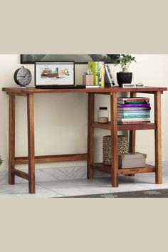 Folding Study Table, Wooden Study Table, Study Tables, Study Table Online, Study Table Organization, Study Table Designs, Wooden Street, Reading Table, Study Desk