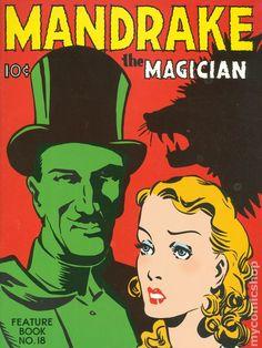 Mandrake the Magician (Feature Books) 18
