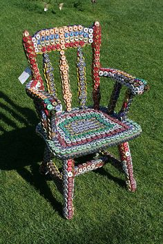 Bottle Cap Chair @ Hilary carvetti