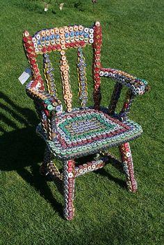 Bottle Cap Chair