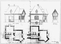 Rosenlund Gatehouse on the campus of Marist College in the midst of Poughkeepsie, NY Architectural Drawings