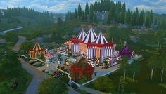 My Favorite Sims4 finds - I present the new improved JPCopeSIMsCircus.  I...