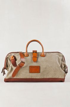 Massimo Dutti sailcloth bag
