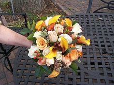 Autumn Hand-tied Bridal Bouquet
