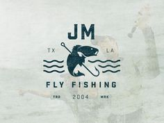 Brand identity in development for a fly fishing guide native to Texas and Louisiana. - Daren Guillory