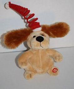 Sound & Light Dog sing plush singing musical Christmas You Make Me Want To Shout