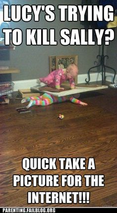 crazy parenting fails - Shhh... It Will All be Over Soon