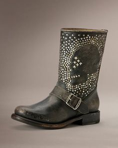 Women's Boots - Women's Leather Boots | The Frye Company-okay, I know they're not Harley, but I would definitely ride in these boots so I'll post them to this board. Freakin' gorgeous!!