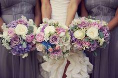 purple+and+lavender+wedding+bouquets | Visit blairring.tumblr.com