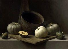 """Fall Bounty II"" - oil painting by Sarah Lamb Food Art Painting, Fruit Painting, Sarah Lamb, Still Life Oil Painting, Oil Painters, Still Life Art, Painted Pumpkins, Still Life Photography, Food Photography"