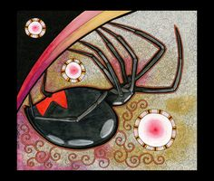 Black Widow Spider as Totem by Ravenari.deviantart.com     I love this young lady's artwork