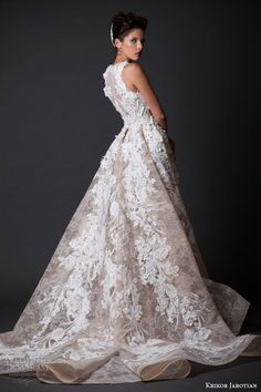 Tendance Robe De Mariée 2017/ 2018 : Krikor Jabotian Fall/Winter 2014-2015 — Amal Collection | Wedding Inspirasi...