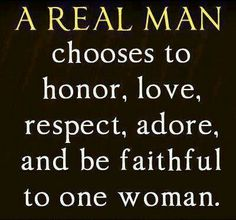 A real man is.. +++For more quotes + advice on #relationship and #love, visit http://www.hot-lyts.com/